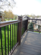 TimberTech capped composite decking and railing also feature post cap lighting to  extend outdoor fun into the evening.
