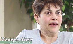 "CareOne at Holmdel Patient Teresa Meo describes the staff as ""a family away from home""."