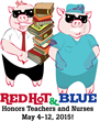 Red Hot & Blue BBQ Restaurants Honor Nurses and Teachers