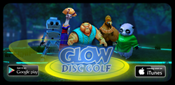 Glow Disc Golf now for Android