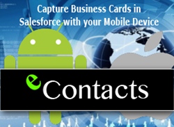 Vision-e Announces Update for eContacts on the Salesforce AppExchange, the World's Leading Enterprise Apps Marketplace