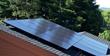 Solar Panels on Home in Santa Rosa, California