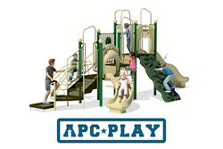 Cherry Valley commercial play structure from APCPLAY