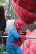 Spider-Kid at Balloon Inflation Tour
