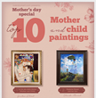 overstockArt.com Reveals Top 10 Art for Mother's Day 2015