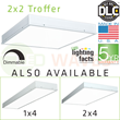 New DLC Listed Troffer Panel Light from LED Waves
