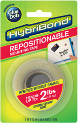 HybriBond Repositionable Mounting Tape