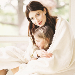 luxury linens and accessories make great Mother's Day gifts
