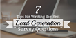 7 Rules You Must Follow When Creating Lead Generation Survey Questions: Shweiki Media Printing Company Presents a New Article on Conducting Successful, Profitable Surveys