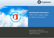 New Cryptzone Survey Reveals High Adoption of Office 365 and...