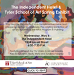 The Independent Hotel unveils new Artwork by Tyler MFA Students