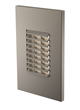 LBl Lighting's new LED Step Lights include this Louver vertical design.