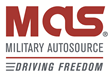 The New Military AutoSource Logo