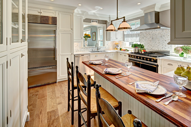 modiani kitchens completes transitional kitchen remodel in greenwich ct