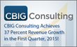 CBIG Consulting Continues Record-Setting Performance — Q1 2015...