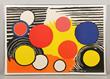 Alexander Calder print, signed