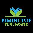 Bimini Top Push Mower
