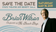 Brian Wilson of The Beach Boys To Headline the State Theatre 2015...