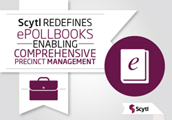Scytl ePollBook transforms poll book into precinct management solution
