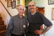 Lee Schriftman (L) with his brother, author and filmmaker Ross Schriftman (R) attend the My Million Dollar Mom launch party April 18th in Maple Glen, Pa.