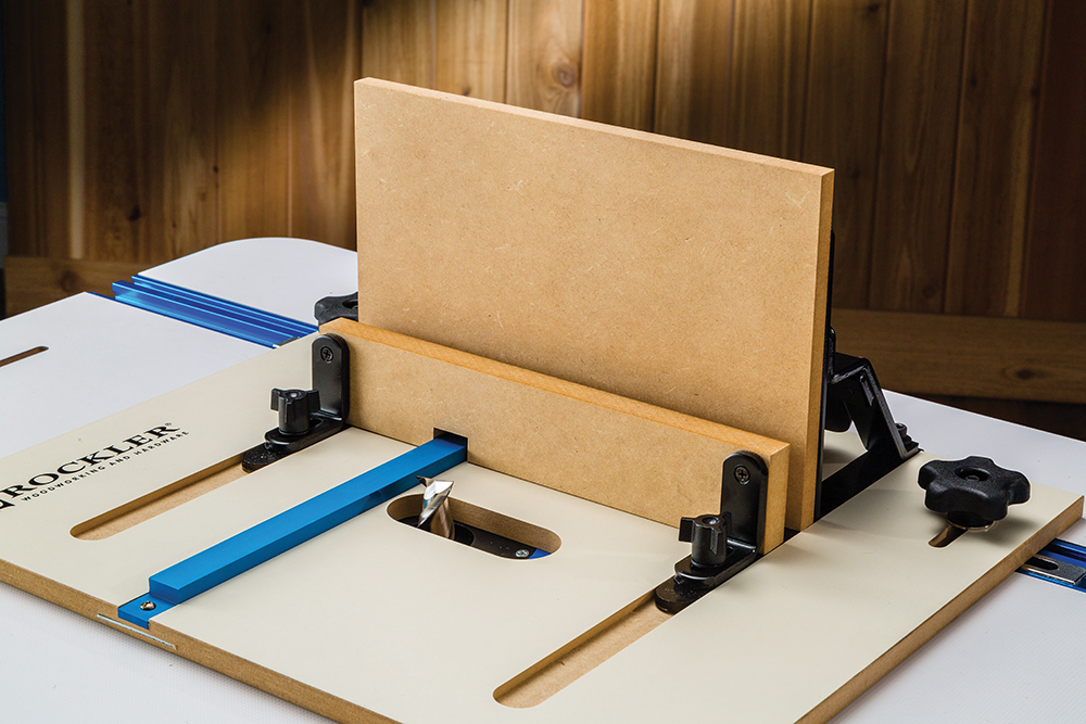 Excellent rockler router table decoration pictures best image rockler introduces router table jig for heavy duty box joints greentooth Gallery