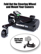 MOOVIT™ Motion Drive Unit Attached to the WheelyBar™ Accessory