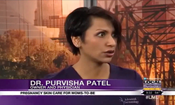 "Dr. Purvisha Patel Talks Skin Care During Pregnancy on ""Local Memphis Live"""