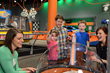 Launching inside the Bubble Track in Hot Wheels™: Race to Win™!