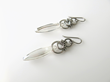 Alyce n Maille's Crystal Shard Earrings