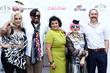 Felicity Hayward, Tarik Tannir, Tamie Adaya, Zandra Rhodes and Piers Atkinson