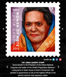 Sonia Ghandi SocialStamp, 2015 Woman of Note