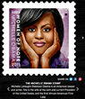 First Lady Michelle Obama Recognized as lettrs SocialStamp