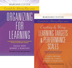 The Marzano Center Essentials for Achieving Rigor book series is now complete.