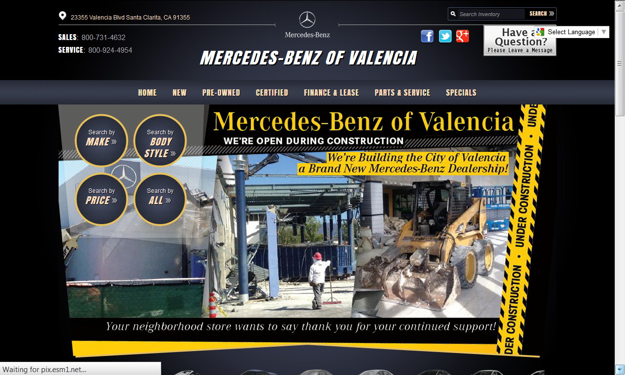 Mercedes benz of valencia offering exceptional car for Mercedes benz of valencia