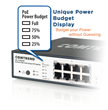 Comtrend Launches Unique 5-Port and 8-Port PoE+ Gigabit Ethernet Switches with Industry First Power Budget Display