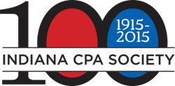 Indiana CPA Society 100-Year Logo