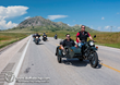 Riders participate in the 2014 Sturgis Buffalo Chip's Freedom Ride as part of the annual Freedom Celebration to honor America's veterans.