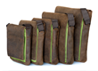 Muzetto Leather—in green, all five sizes