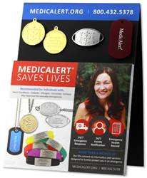 MedicAlert medical ID display