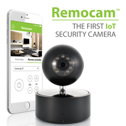 Remocam - the first IoT IP security camera