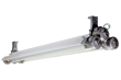 Class 1 Division 1 & 2 Four Foot Two Lamp Fixture Equipped with Second Generation LED Tubes
