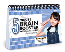 Brain Booster Physical Activities for Elementary from Learning ZoneXpress