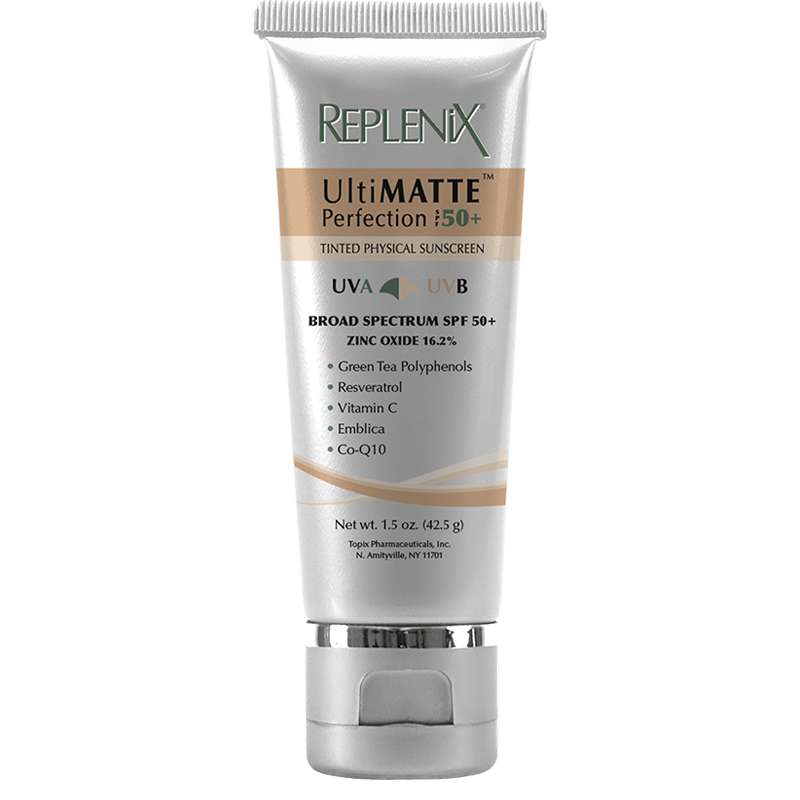 Topix Pharmaceuticals Inc Perfects The Bb Cream With Replenix Ultimatte Perfection Spf 50 Tinted Physical Sunscreen