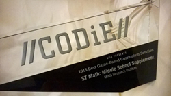 2015 CODiE Award for ST Math