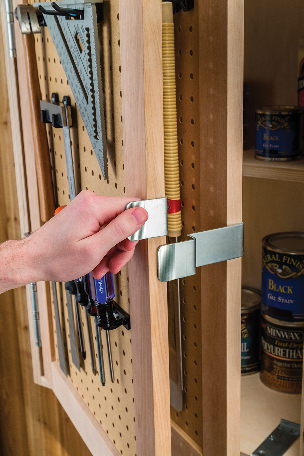 Rockler Introduces Tandem Door Hinge Sets Unique Hinges