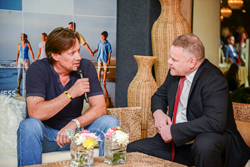 Per Wickstrom interviews Kevin Sorbo