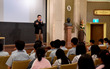 At the Church of Scientology Kaohsiung drug education open house April 17, 2015, a former addict shared his own experience with youth to help them make informed decisions not to take drugs.