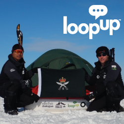LoopUp Expedition Arctic Gurkha Remote Meetings