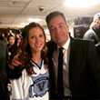 Roxanne with Jimmy Fallon After Her Appearance on The Tonight Show