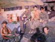 U.S. Army buddies in Vietnam.
